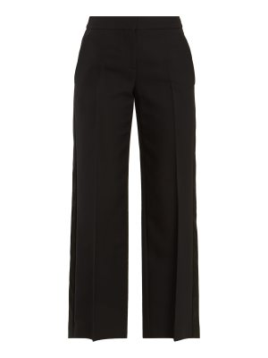 Alexander McQueen High-rise wide-leg trousers