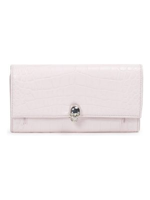 Alexander McQueen mock leather convertible clutch