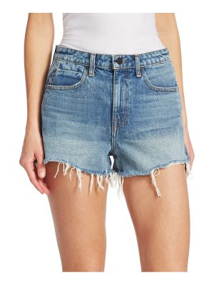alexanderwang.t bite frayed denim shorts