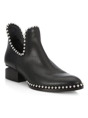 Alexander Wang kori cutout studded leather ankle boots