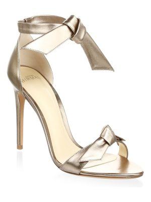 Alexandre Birman clarita metallic leather sandals