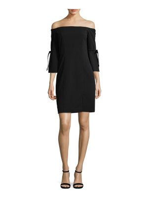 Alexia Admor Tie Sleeve Mini Dress