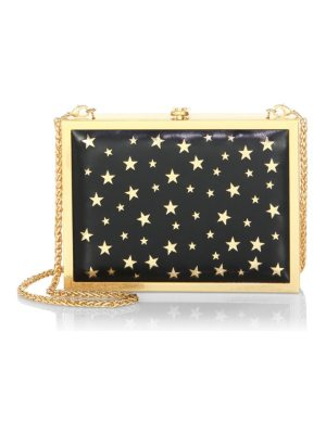 Alice + Olivia darla laser cut star clutch