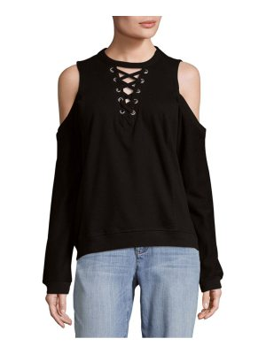 Alison Andrews Dolman Cold-Shoulder Top