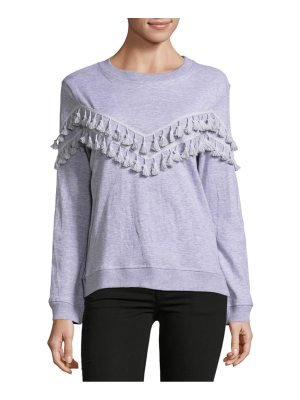 Alison Andrews Roundneck Tassel Sweater