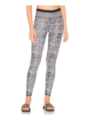 All Fenix Striped Leopard Legging