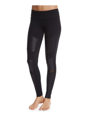 Alo Yoga Moto Full-Length Sport Leggings