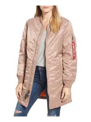 ALPHA INDUSTRIES water resistant long ma-1 jacket