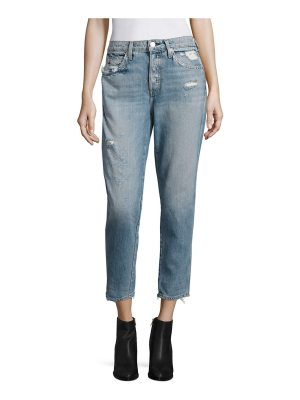 AMO ace high-rise slouchy skinny ankle jeans
