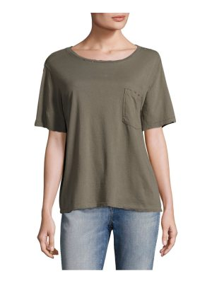 AMO tomboy patch pocket tee