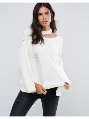 Amy Lynn Slash Neck Sweater With Bell Sleeve