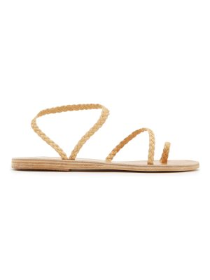 Ancient Greek Sandals Eleftheria braided-leather sandals