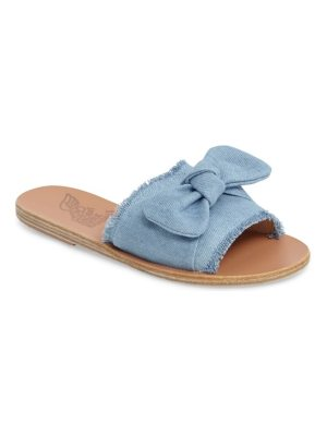 Ancient Greek Sandals taygete bow slide sandal