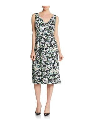 Anne Klein Floral-Print Dress