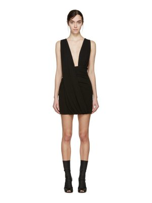 Anthony Vaccarello Draped Jersey Dress