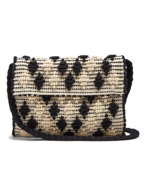 Antonello Tedde Suni Rombetti cotton cross-body bag