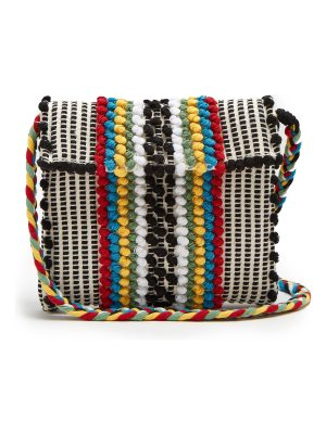 Antonello Tedde Suni Strisce striped cotton cross-body bag