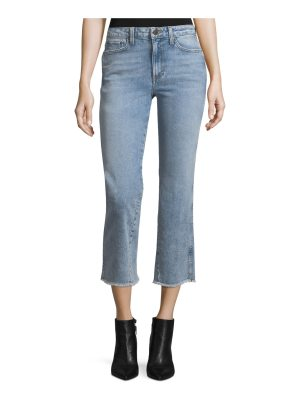 AO.LA by Alice+Olivia Fabulous High-Rise Baby Boot Ankle Jeans