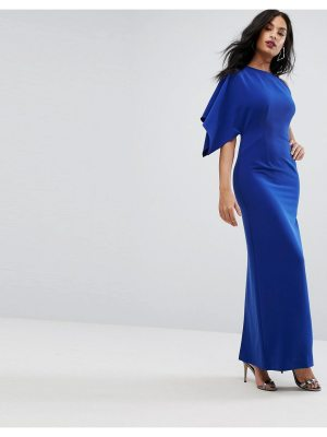 AQ/AQ AQ/AQ One Shoulder Structured Gown