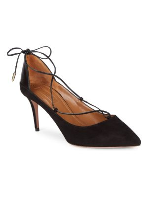 Aquazzura Fellini Leather Pumps