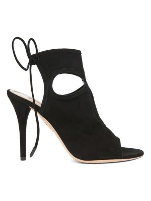 Aquazzura Sexy Thing Suede Heels