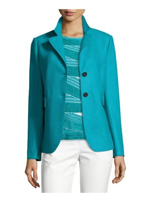 Armani Collezioni Double-Faced Wool Two-Button Jacket