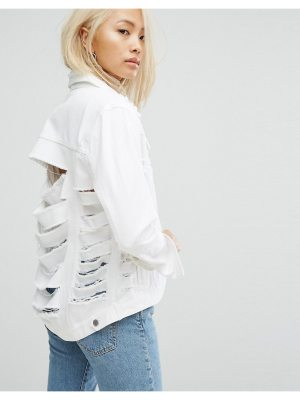 ARRIVE Girlfriend Jacket with Extreme Rips