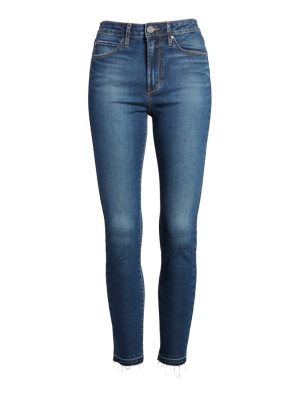Articles of Society heather high waist crop skinny jeans