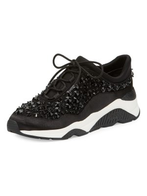 Ash Muse Beaded Lace-Up Sneakers