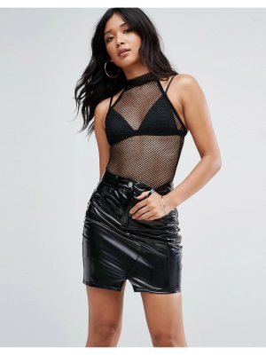 ASOS Body in Mesh With High Neck