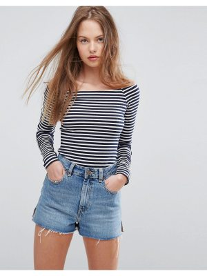 ASOS Body in Stripe with Long Sleeve