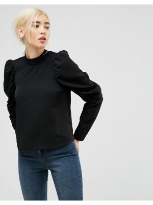 ASOS Boxy Top with Exaggerated Sleeves