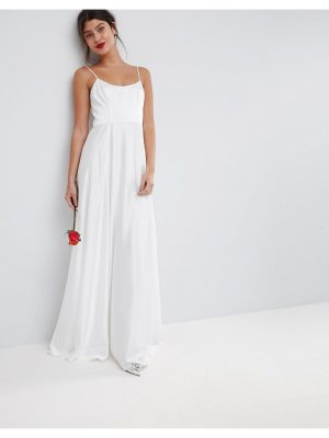 ASOS BRIDAL Maxi Dress with Square Neck