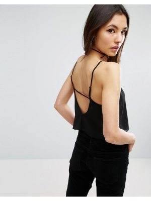 ASOS Cropped Cami with Low Back