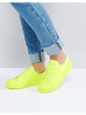 ASOS DANGER Lace Up Sneakers
