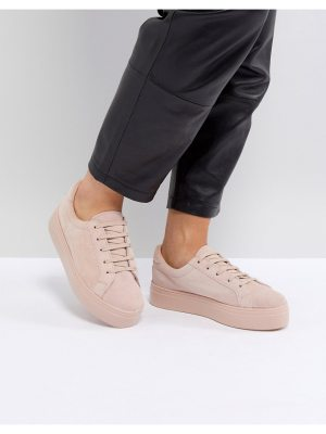 ASOS DAY LIGHT Suede Lace Up Sneakers