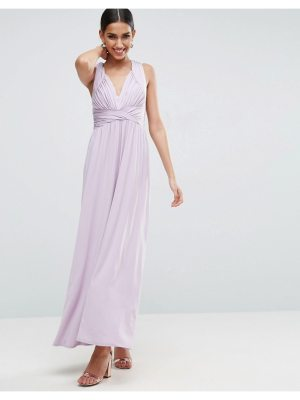 ASOS Drape Twist Back Maxi Dress