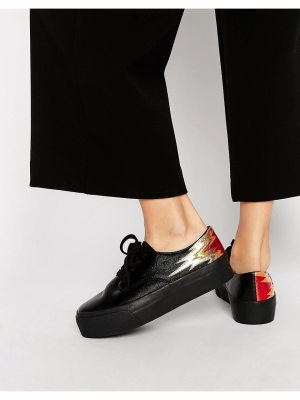 ASOS DREAMY Flame Lace Up Sneakers