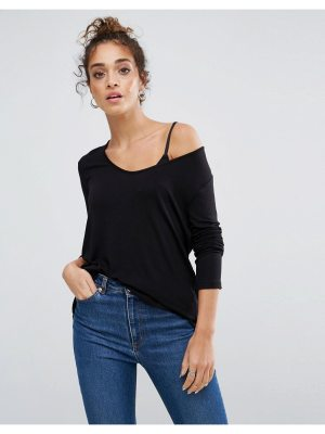 ASOS Forever T-Shirt with Long Sleeve