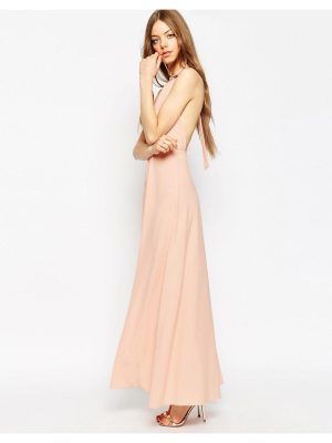 ASOS Halter Neck Maxi Dress