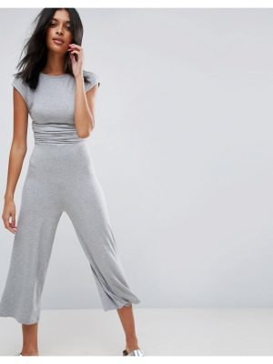 ASOS Jersey Jumpsuit with Waist Detail