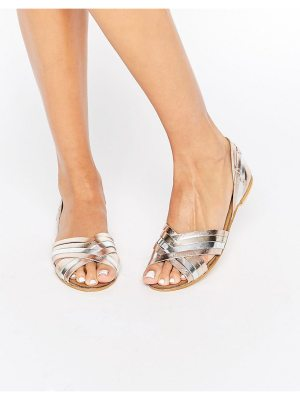 ASOS JUZA Leather Summer Shoes