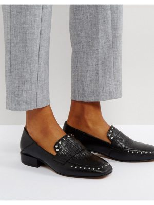 ASOS MAGESTIC Leather Studded Loafer