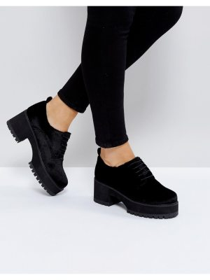 ASOS OMEGA Chunky Lace Up Heels