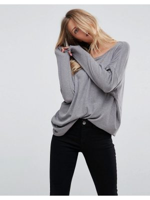 ASOS Oversized T-Shirt with Batwing Detail