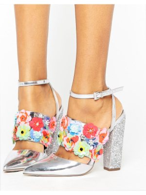 ASOS DESIGN asos papaya embellished heels