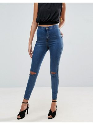 ASOS DESIGN asos rivington high waist denim jeggings