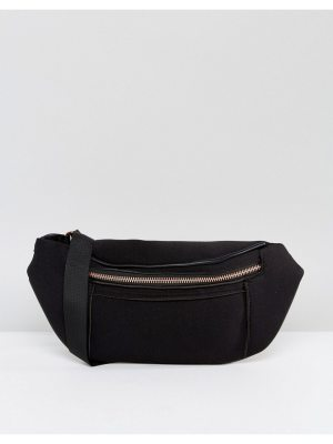 ASOS scuba fanny pack with rose gold