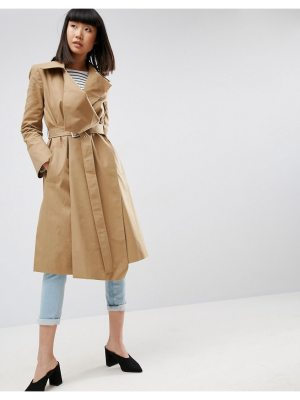 ASOS Structured Trench Coat