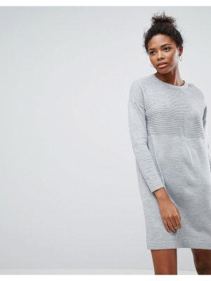 ASOS Sweater Dress In Rib